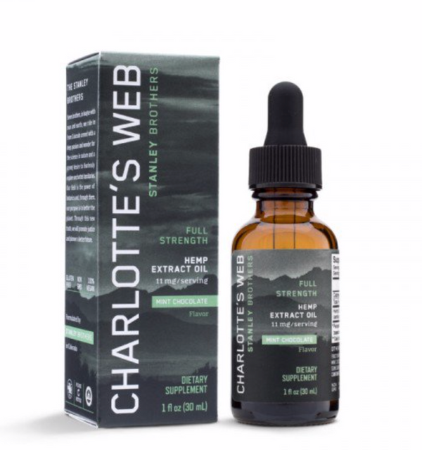 Charlotte's Web Full Strength CBD Oil