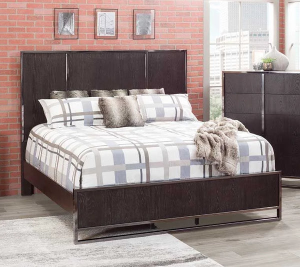 Shop Home Insights City Scape Queen Panel Bed at  Raley's Home Furnishing