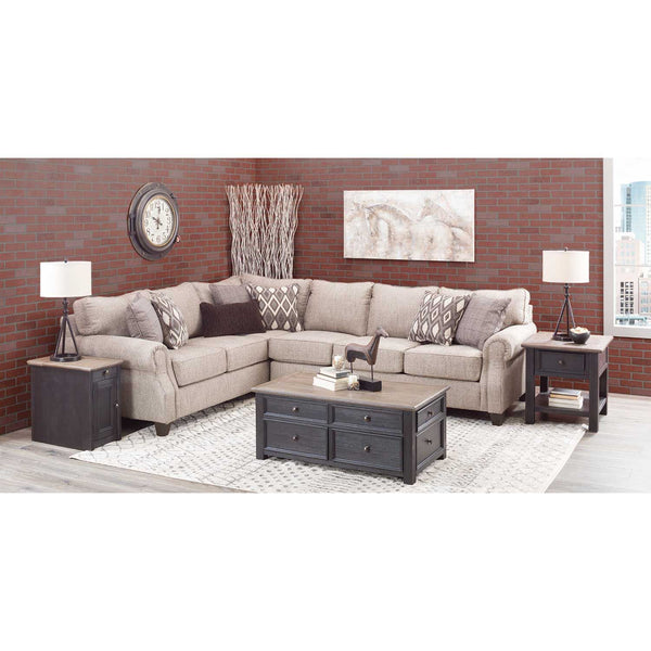 Shop Lane Home Furnishings Oconnor Clove 2-Pc Sectional with Raf Sofa at  Raley's Home Furnishing