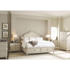Shop Legacy Brookhaven King Storage Bed w/ Dresser, Mirror & Nightstand at  Raley's Home Furnishing