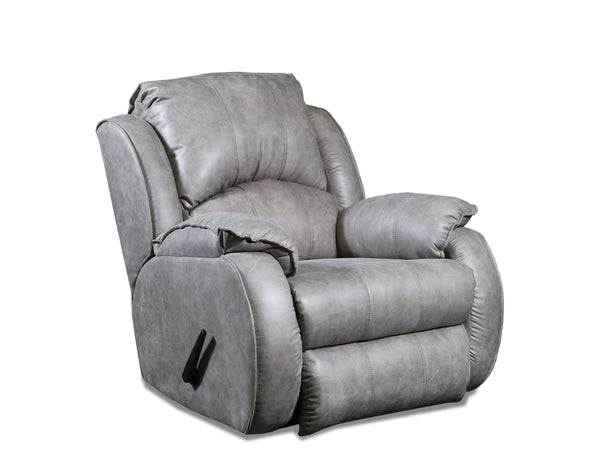 Cagney Nickel Rocker Recliner