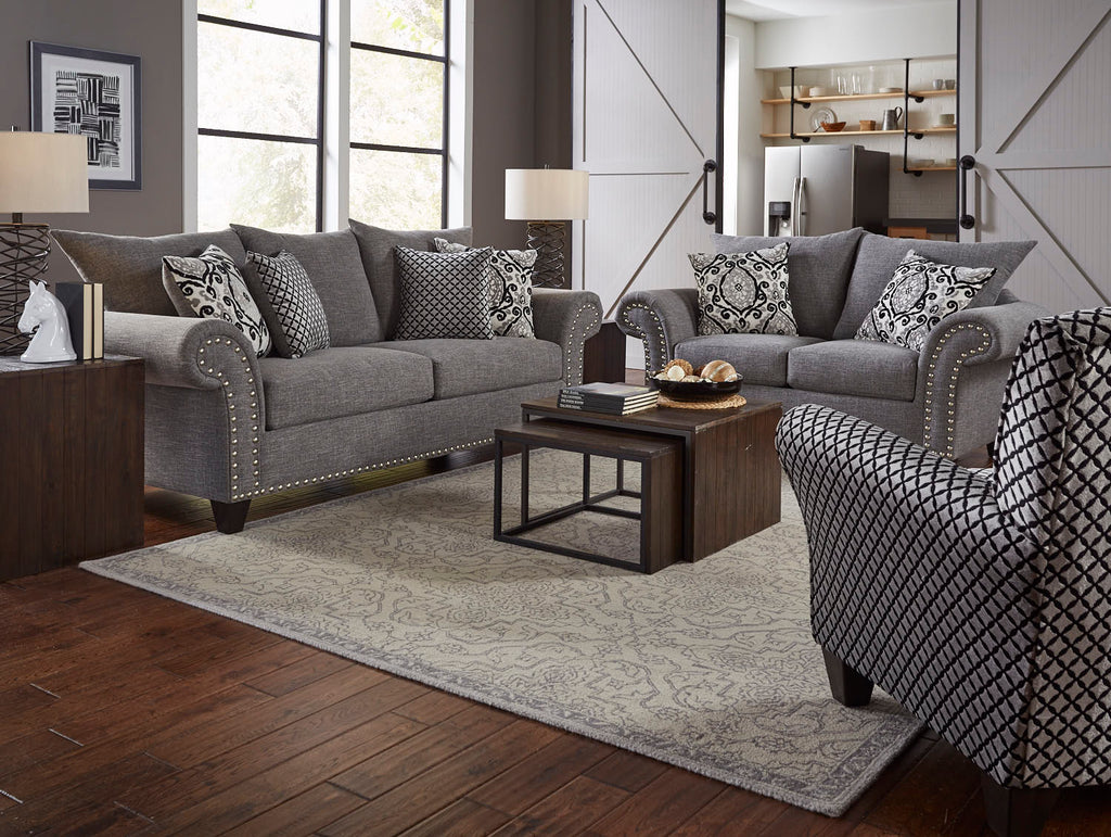 Paradigm Carbon Living Room Set Raley S Home Furnishings
