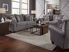 Shop Corinthian Paradigm Carbon Living Room Set at  Raley's Home Furnishing