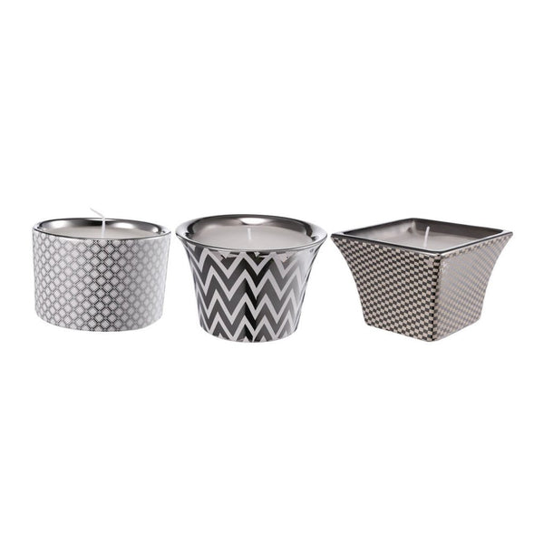 Shop A&B Home Navya Sliver Herringbone Candles at  Raley's Home Furnishing