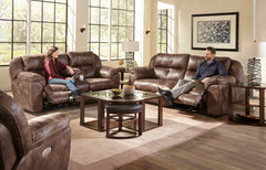 Ferrington Dusk Reclining Sofa and Reclining Loveseat