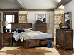 Shop Homelegance Jerrick Queen Bed w/ Dresser & Mirror at  Raley's Home Furnishing
