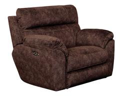 Sedona Mocha Power Headrest and Power Lay Flat Recliner