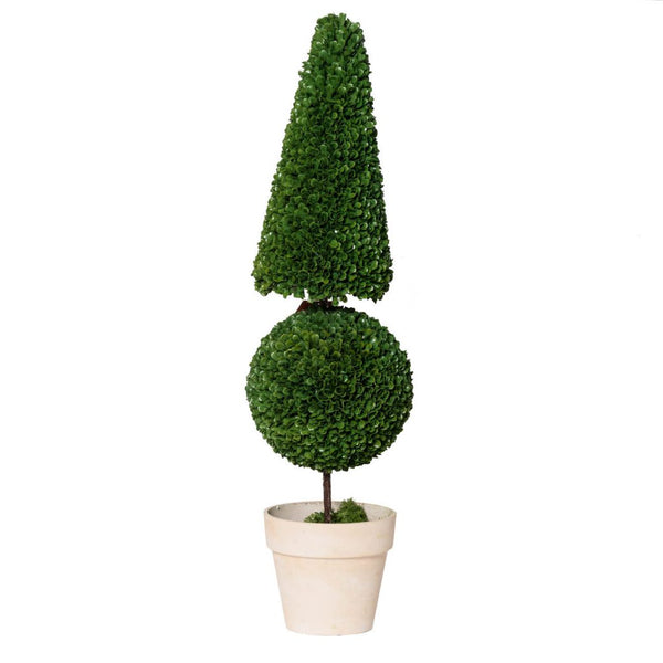 Shop A&B Home Cone and Ball Topiary at  Raley's Home Furnishing