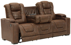 Owner's Box Pwr Rec Sofa With Adj Headrest