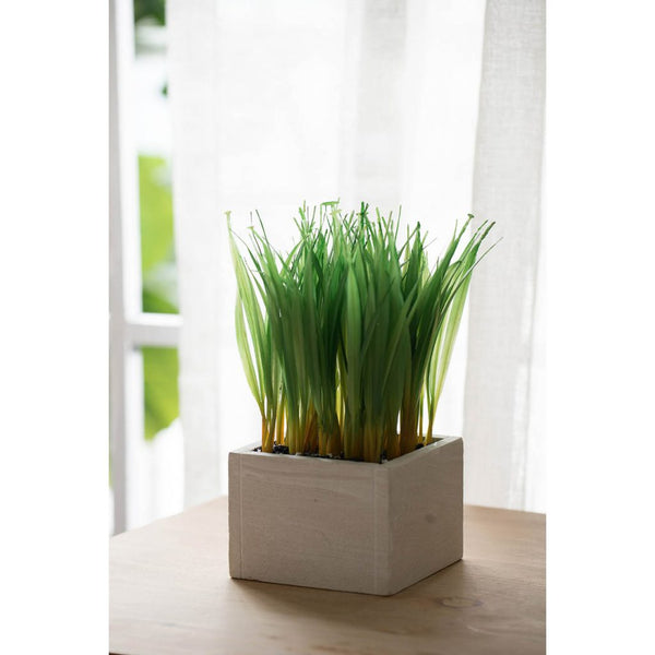 Shop A&B Home Faux Grass Planter at  Raley's Home Furnishing