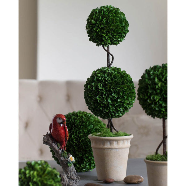 Shop A&B Home Boxwood Topiary Double Sphere at  Raley's Home Furnishing
