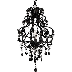 Shop A&B Home Elizavetta Noir Chandelier at  Raley's Home Furnishing