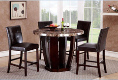Shop Raley's Home Furnishings Faux Marble Counter Height Dining Set - Online Exclusive at  Raley's Home Furnishing