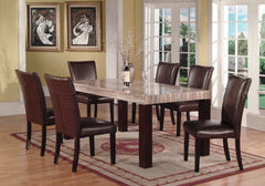 Shop Raley's Home Furnishings Faux Marble Rectangle Dining Set - Online Exclusive at  Raley's Home Furnishing