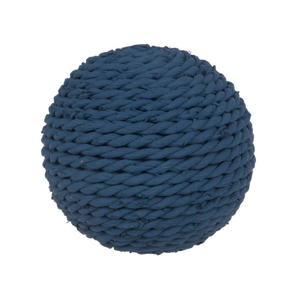 "Shop A&B Home Twine Decorative 4"" Blue Spheres at  Raley's Home Furnishing"