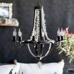 Shop A&B Home 6 Light Chandelier at  Raley's Home Furnishing