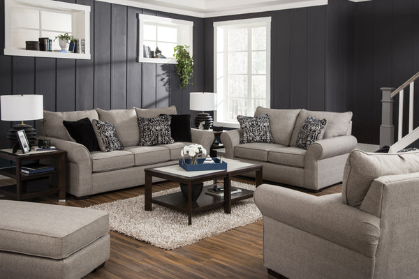 Maddox Fossil Sofa and Loveseat