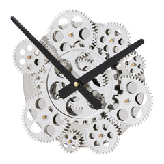 Shop A&B Home Silver Wall Clock at  Raley's Home Furnishing