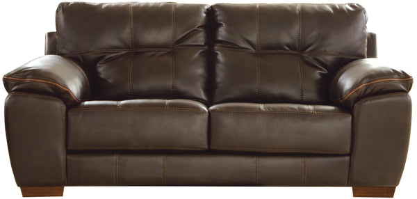 Hudson Chocolate Loveseat