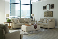 Newberg Buff Sofa and Loveseat