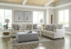 Newberg Platinum Sofa and Loveseat