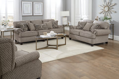 Freemont Pewter Sofa and Loveseat