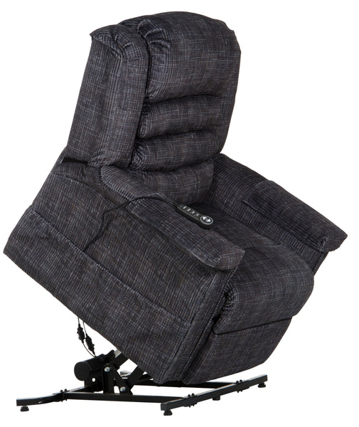 Soother Smoke Power Lift Chair With Heat and Massage