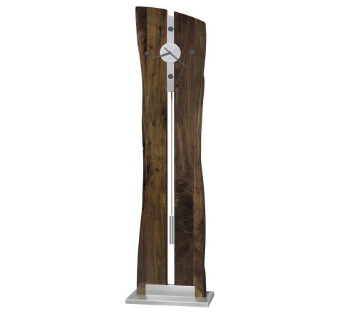 Shop Howard Miller Enzo Natural Walnut Floor Clock at  Raley's Home Furnishing