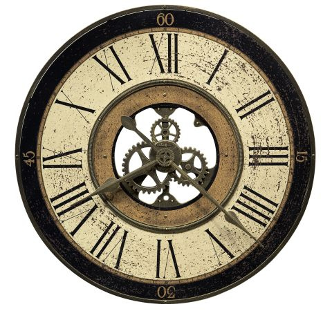 Shop Howard Miller Brass Works Wall Clock at  Raley's Home Furnishing