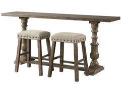 Charleston Upholstered Backless Stools