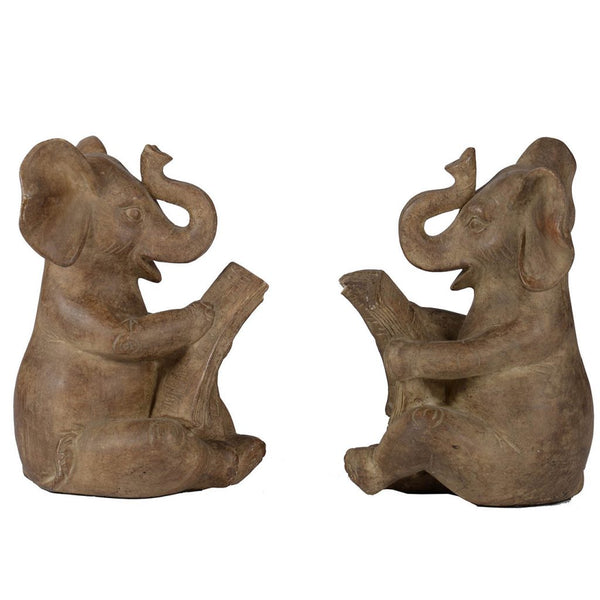 Shop A&B Home Elephant Bookends at  Raley's Home Furnishing