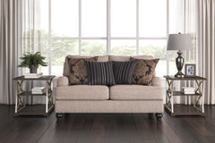 Fermoy Pewter Loveseat