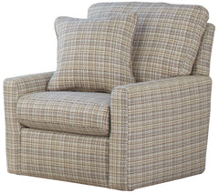 Newberg Buff Winter Swivel Chair