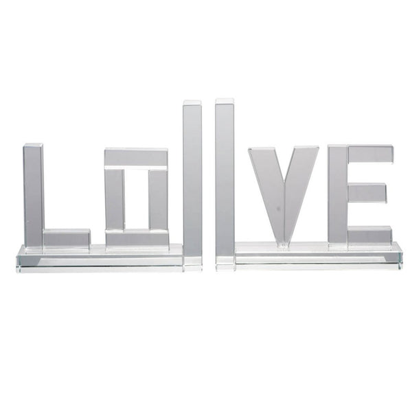 Shop A&B Home Love Bookends at  Raley's Home Furnishing