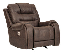 Yacolt- Walnut Pwr Recliner