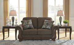 Miltonwood Loveseat- Teak