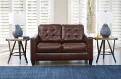 Altonbury Loveseat- Walnut