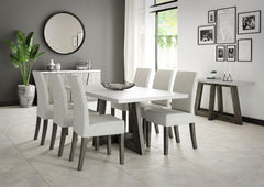 Shop Global Home Furnishings Austin Rectangular Table Set at  Raley's Home Furnishing