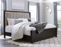 Maretto King Panel Bed