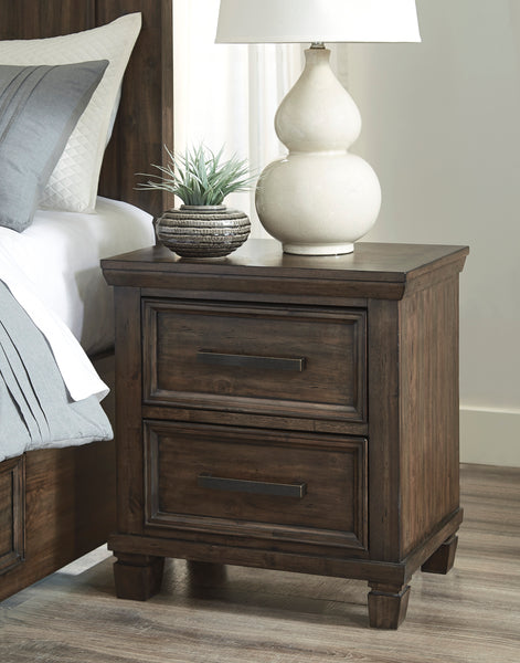 Johurst Two Drawer  Nightstand
