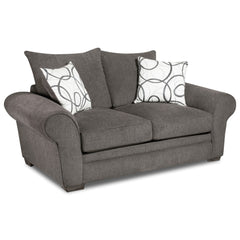 Shop Corinthian Othello Black Black Loveseat at  Raley's Home Furnishing