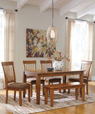 Berringer Table & 4 Side Chairs & Bench
