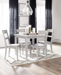 Loratti Table & 4 Side Chairs
