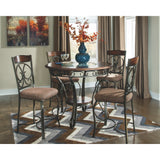 Glambrey Counter Table & 4 Bar Chairs