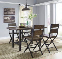 Kavara Table & 4 Barstools