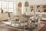 Bolanburg Table 4  Side Chairs & Bench