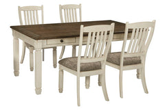 Bolanburg Table & 4 Side Chairs