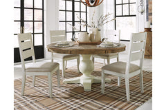 Grindleburg Table & 4 Side Chairs