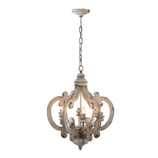 Shop A&B Home Baroda 6 Light Chandelier at  Raley's Home Furnishing