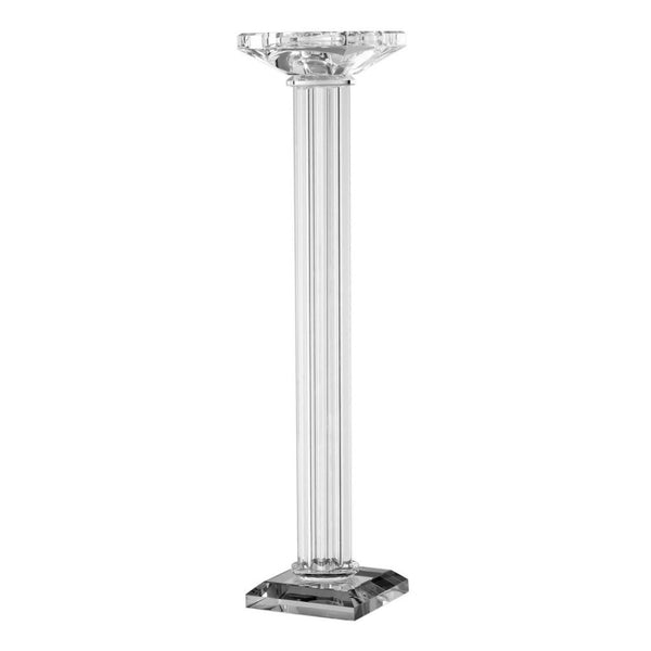 Shop A&B Home Lead Crystal Candle Holder at  Raley's Home Furnishing